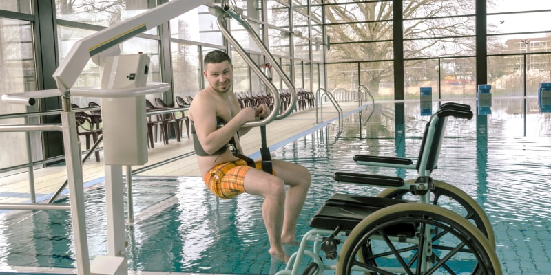 Make Pool Mobility Assessible